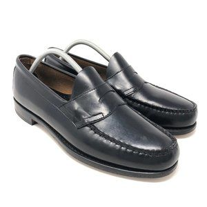 G.H. Bass Weejuns Penny Loafer 11 D Black Leather